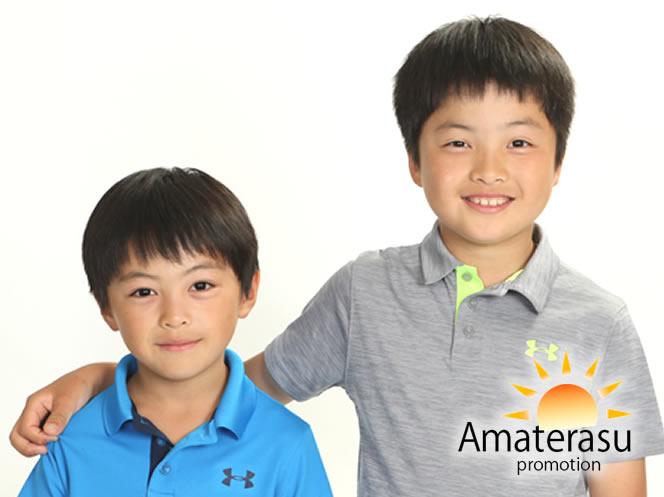 子供モデル(小学生部門)C10002 波多野brother